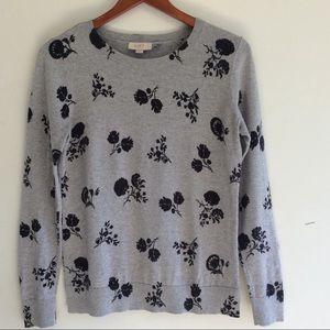 Loft Gray Sweater Size S